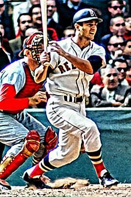 Red Sox Painting - Carl Yastrzemski by Florian Rodarte