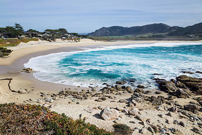 Seascape Photograph - Carmel Beach by Priya Ghose