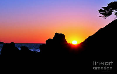 Carmel Sunset Print by Susan Wiedmann