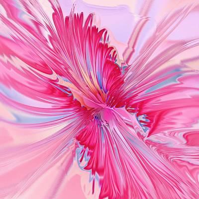 Holidays Digital Art - Carnation Pink by Anastasiya Malakhova