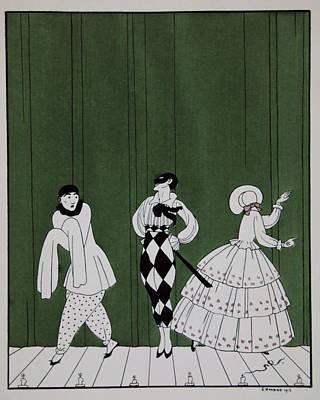 Carnaval Print by Georges Barbier