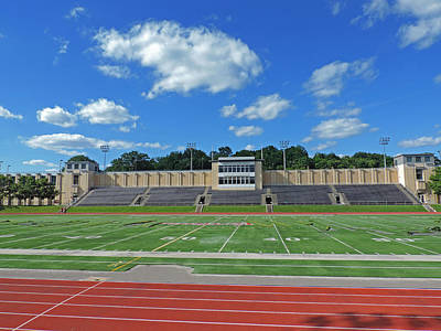 Carnegie Mellon University Football Field Print by Cityscape Photography