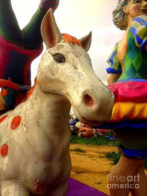 Carnival Horse Print by Noa Yerushalmi