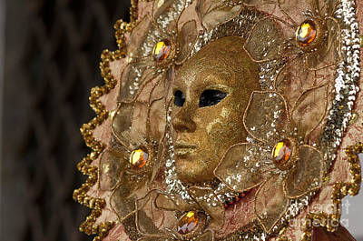 Carnival In Venice 8 Print by Design Remix