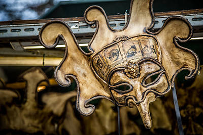 Italy Photograph - Carnival Mask by Timothy Denehy