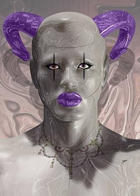 Robotics Mixed Media - Carnival Of Robotic Dionysus by Quim Abella