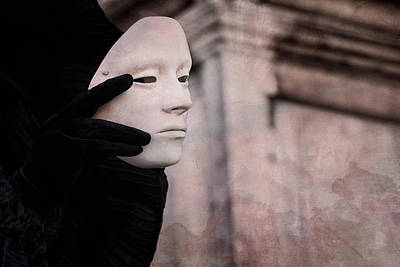Carnival Fantasy Photograph - Carnival Of Venice -- Ghost - Tell Me Everything 2 By Zina Zinchik by Zina Zinchik