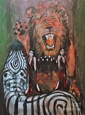 Morph Painting - Carnivorous Rule Of Law by Thomas Dudas