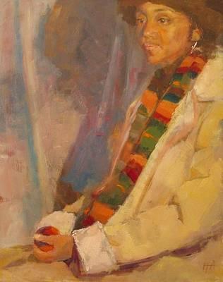 Carol In Winter Original by Irena  Jablonski