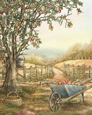 Carolina Afternoon Print by Beverly Levi-Parker