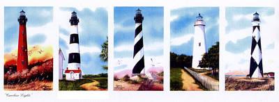 Carolina Heights Print by Larry Johnson