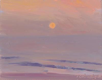 Carolina Sunrise Print by Timothy Chambers