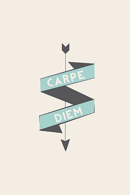 Carpe Diem Original by Sara Habecker