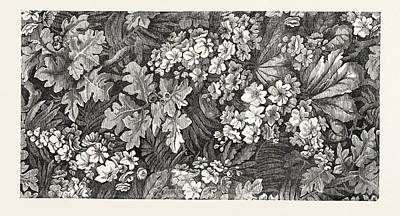 Carpet. Kidderminster Print by English School