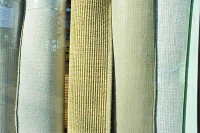 Carpet Shop Print by Tom Gowanlock