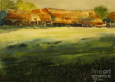 Painting - Carr Barn by Elizabeth Carr