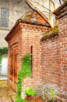 Grill Gate Photograph - Carriage House by Linda Covino