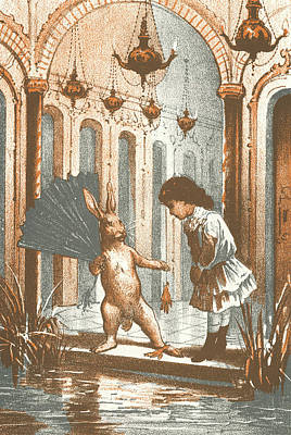 Eleonora Painting - Carroll Alice, 1890 by Granger