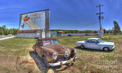 Michigan Theatre Photograph - Cars At The Drive-in by Twenty Two North Photography