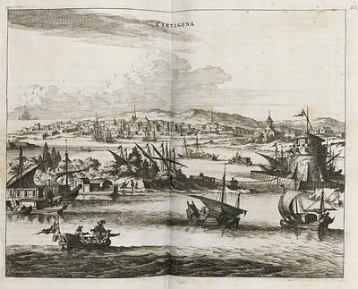 Cartagena Print by British Library