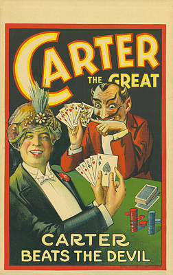 Carter Beats The Devil Print by Underwood Archives