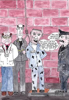 Cartoon Print by Alan Wilkinson