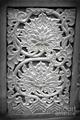 Photograph - Carvings 3 by Shawna Gibson