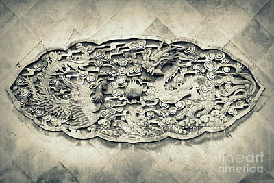 Photograph - Carvings2 by Shawna Gibson