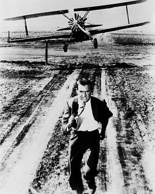 Cary Photograph - Cary Grant In North By Northwest  by Silver Screen