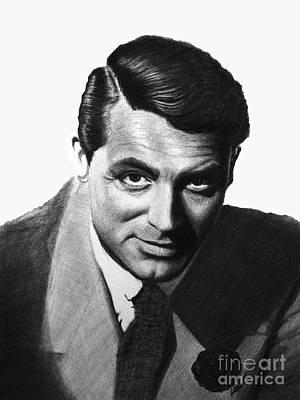 Cary Grant Original by Loredana Buford