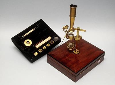 Cary Photograph - Cary Type Microscope by Science Photo Library