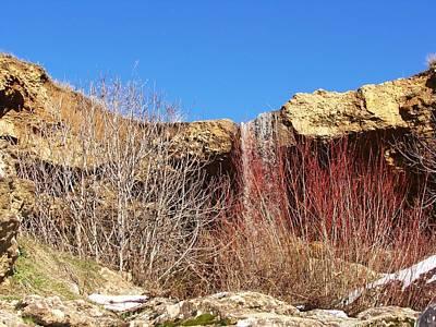 Photograph - Cascades D'elghoraf by Faouzi Taleb