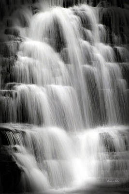Corporate Art Photograph - Cascading Falls by Christina Rollo