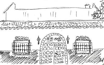 Caseta Del Psoe In Torremolinos Original by Chani Demuijlder
