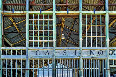 Casino Asbury Park New Jersey Print by Susan Candelario