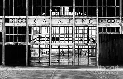 Architecture Photograph - Casino Entrance by John Rizzuto