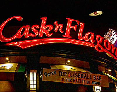 Cask And Flagon 002 Print by Jeff Stallard