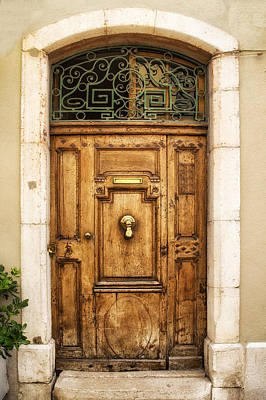 France Doors Photograph - Cassis French Door by Georgia Fowler
