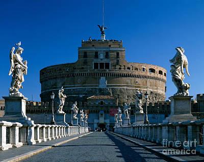 Castel Sant Angelo, Rome Print by Rafael Macia