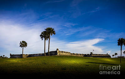 Spring Scenes Photograph - Castillo De San Marcos by Marvin Spates