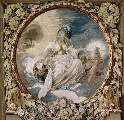 Tapestries Textiles Photograph - Castillo, Jos� Del 1737-1793. Allegory by Everett
