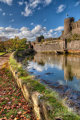 Castle Conwy Print by Adrian Evans