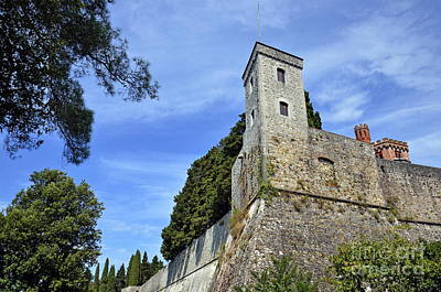 Photograph - Castle In Chianti by Sami Sarkis
