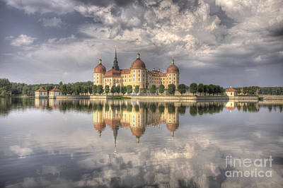 Castle In The Air Print by Heiko Koehrer-Wagner