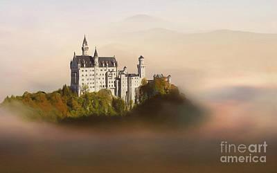Castle In The Air Vi. - Neuschwanstein Castle Print by Martin Dzurjanik