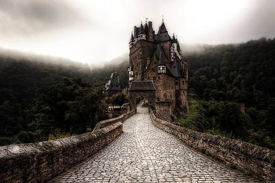 Castle Photograph - Castle In The Mist by Ryan Wyckoff