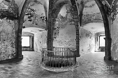Gothic Photograph - Castle Inside Tower by Jose Elias - Sofia Pereira