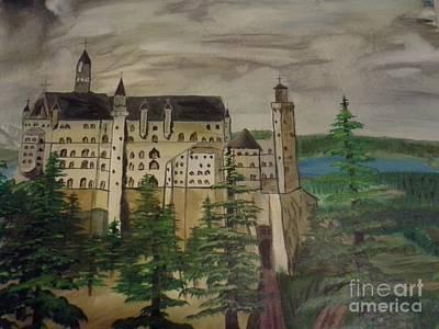 Castle Neuschwanstein Original by Christopher Carter