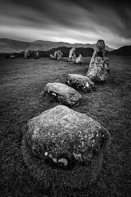 Archeology Photograph - Castlerigg Stone Circle by Dave Bowman