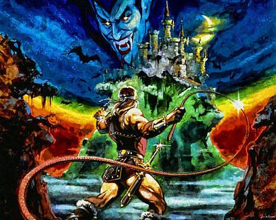 Castlevania Print by Joe Misrasi